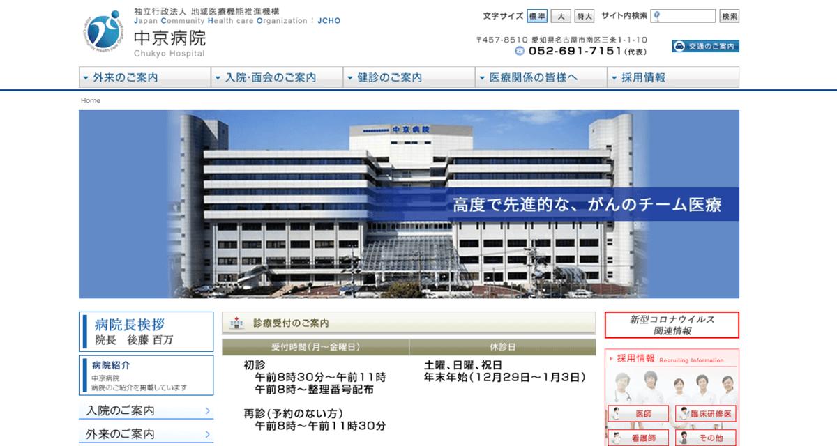JCHO中京病院